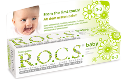 R.O.C.S. Baby toothpaste with camomile extract