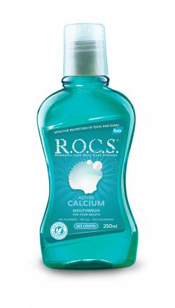 R.O.C.S. Mouthwash Active Calcium