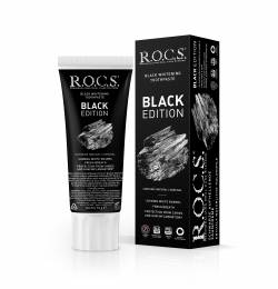 Black Whitening Toothpaste R.O.C.S. BLACK EDITION